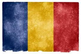 bandiera romania fade