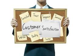 cartello customer satisfaction post it