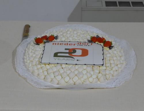 E' un Impresa: i 20 anni di Niederdorf Italia