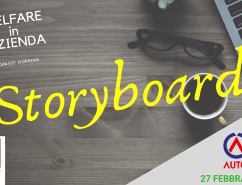 Welfare Smart Working Storyboard Evento