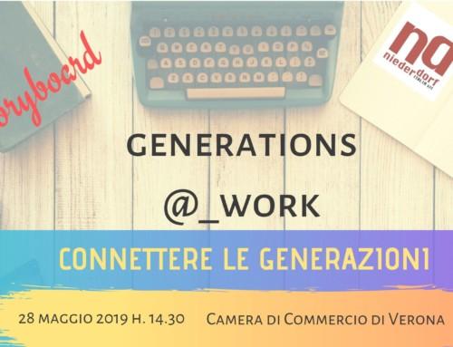 Generazioni al Lavoro Storyboard Evento