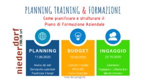 Pianificare la formazione