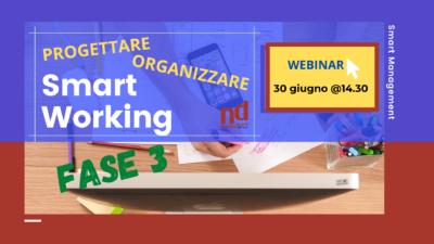 Progettare organizzare smart working