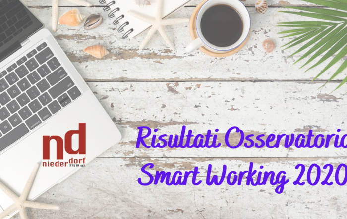 Risultati Osservatorio smart working