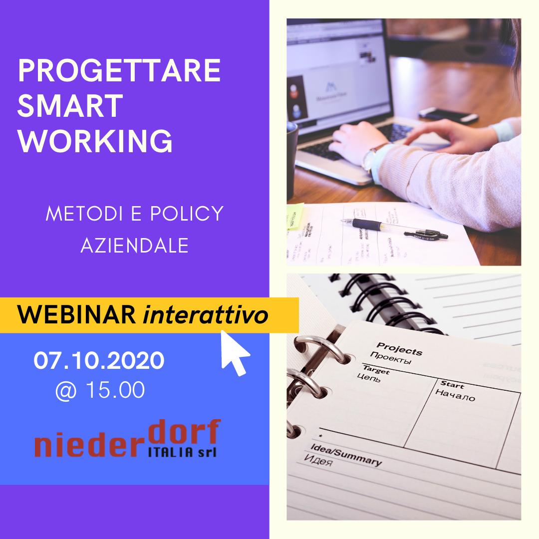 progettare smart working